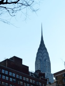 Chrysler building, East, Summer Evening