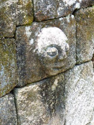 Batak stone carving