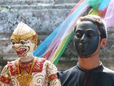 Puppeteer and Hanuman