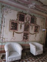 richly decorated walls