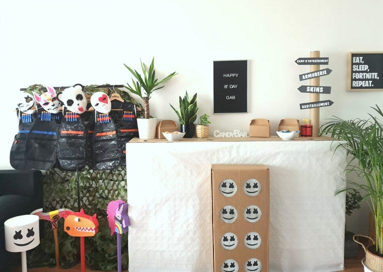Sabrina Berrich [ DIY ] Organiser un anniversaire Fortnite