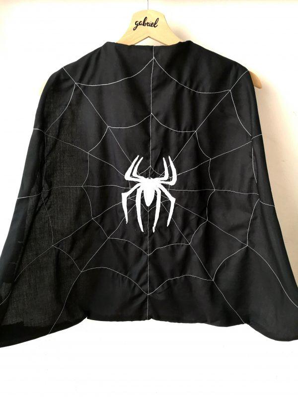 Cape Spiderman noir