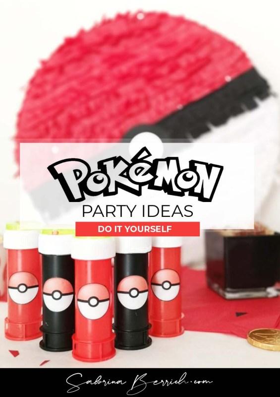 Sabrina Berrich - [ DIY ] Un anniversaire sur le thème Pokémon