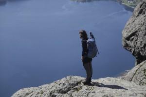 Aussicht auf der Lihesten Wanderung
