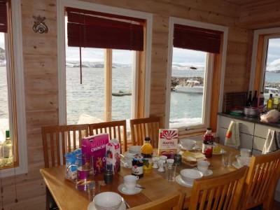 Fühstück im Hav og Fjell