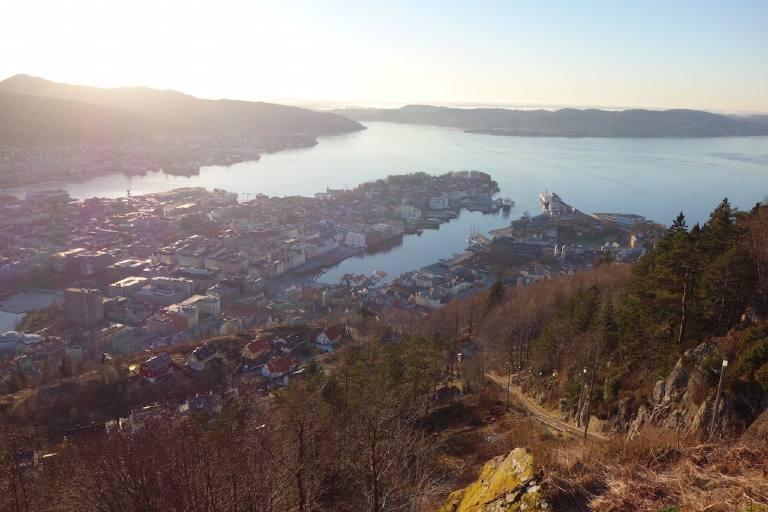 Aussicht Fløyen