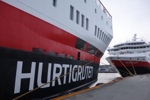 Hurtigruten Schiffe