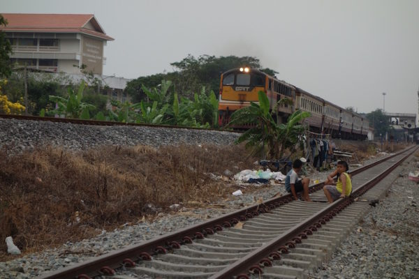 Zug in Bangkok
