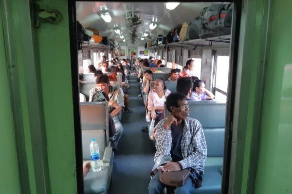 Zugfahrt Bangkok - Prachuap Khiri Khan