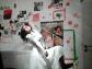 """Aus meinem absoluten Freiheitstanz. Nebeltanz. Ein Tanz gegen Gewalt und fürs Atmen Können. Mehr Bilder zum Tanz im Beitrag zum Nebeltanz. """"Tanz! Tanz bis du wieder wirklich frei bist!"""" (Janine)."""