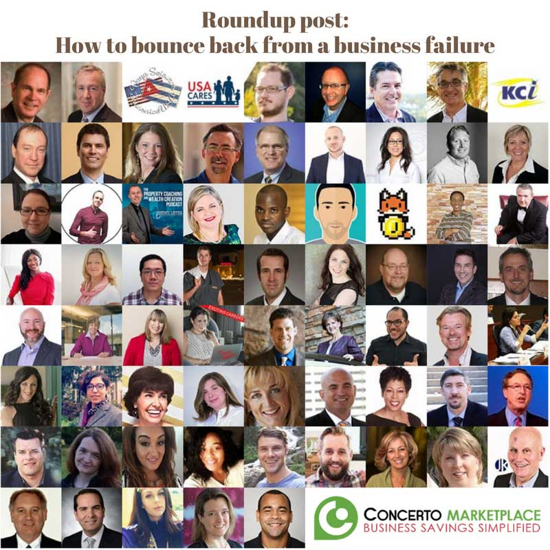 sabrina cadini roundup blog post entrepreneurs business failure bounce back expert concerto gpo