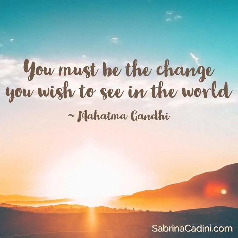 sabrina cadini monday moves me change in the world business coach creative entrepreneurs mahatma gandhi