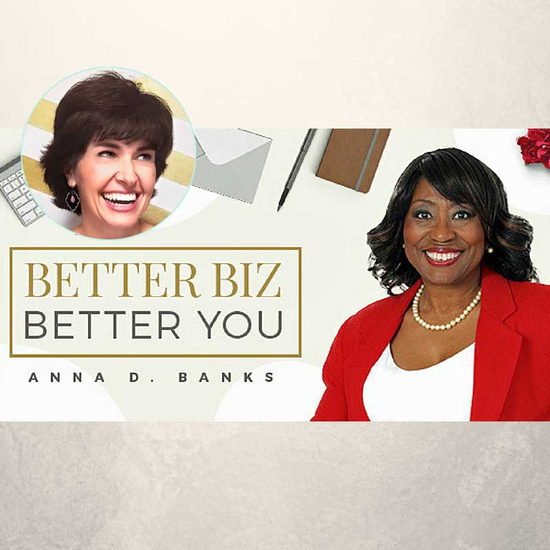 sabrina cadini radio show host better biz better you anna banks creative entrepreneurs productivity holiday work tips