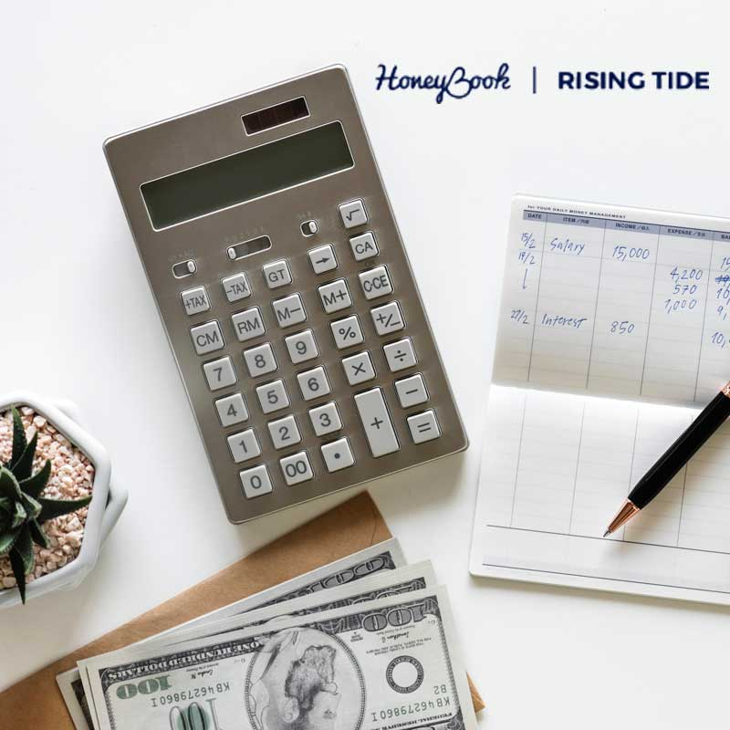 sabrina cadini blog post guest pricing creative entrepreneurs honeybook rising tide