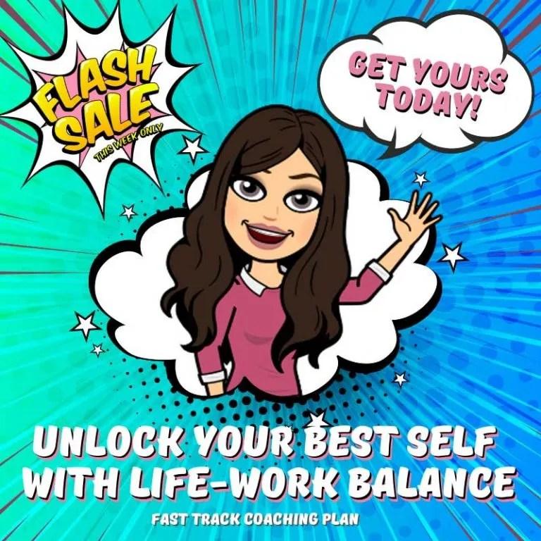 sabrina cadini unlock your best self life-work balance fast track coaching plan flash sale creative entrepreneurs