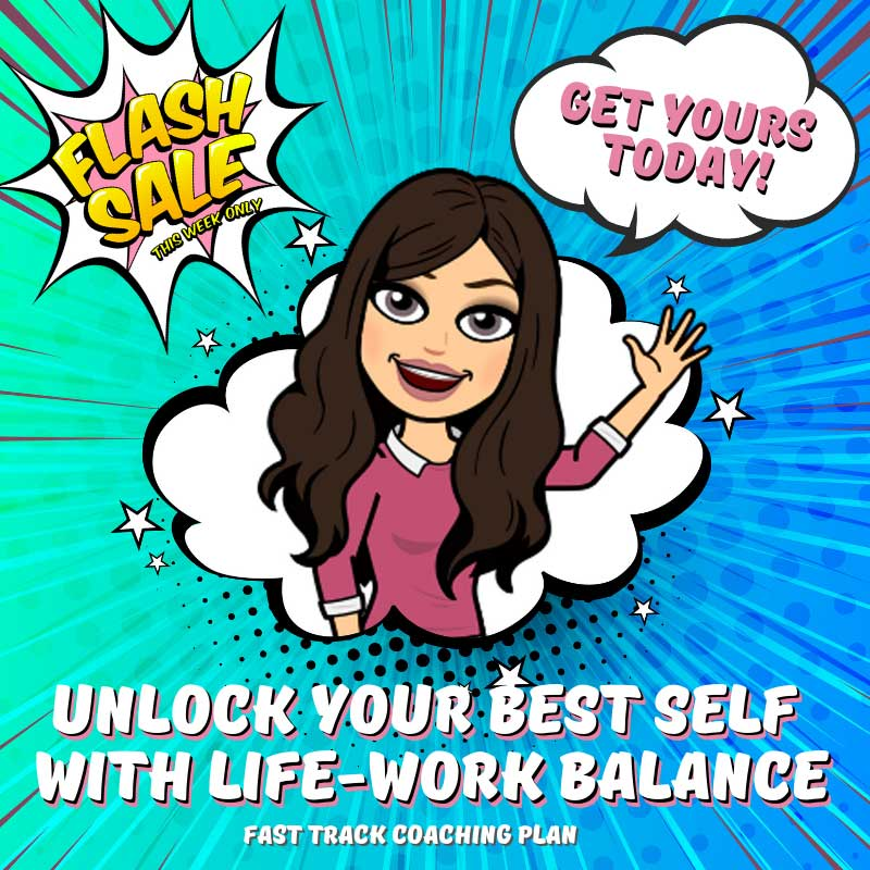 sabrina cadini unlock your best self life-work balance fast track coaching plan flash sale creative entrepreneurs