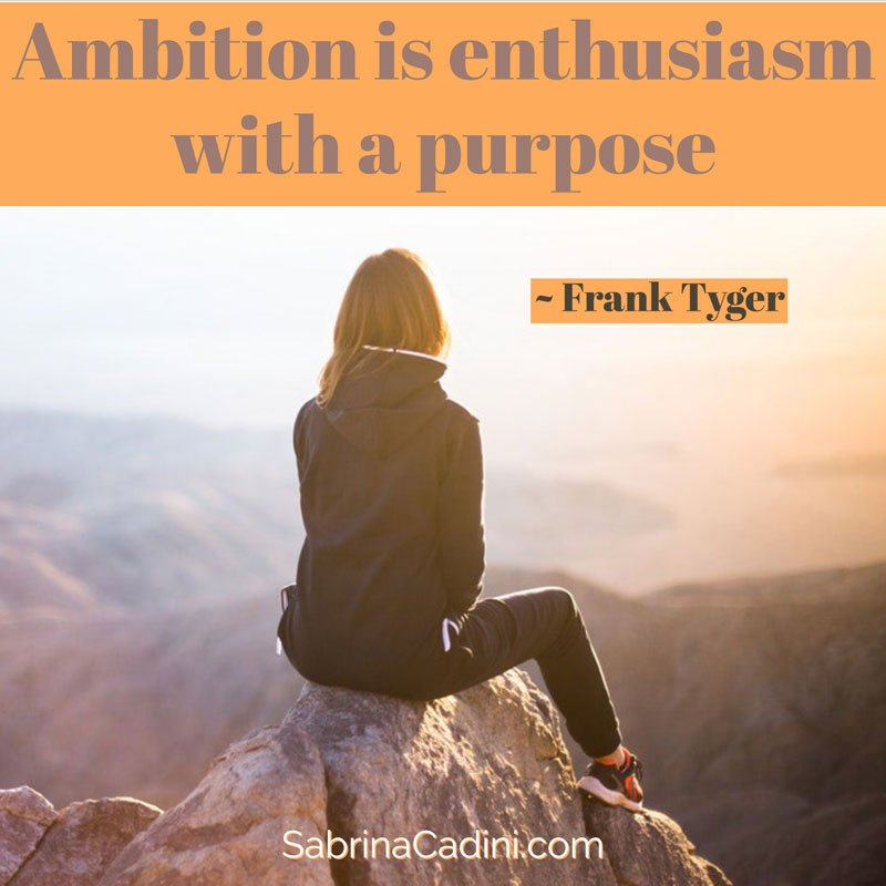 sabrina cadini monday moves me ambition goal setting cretive entrepreneurs enthusiasm purpose