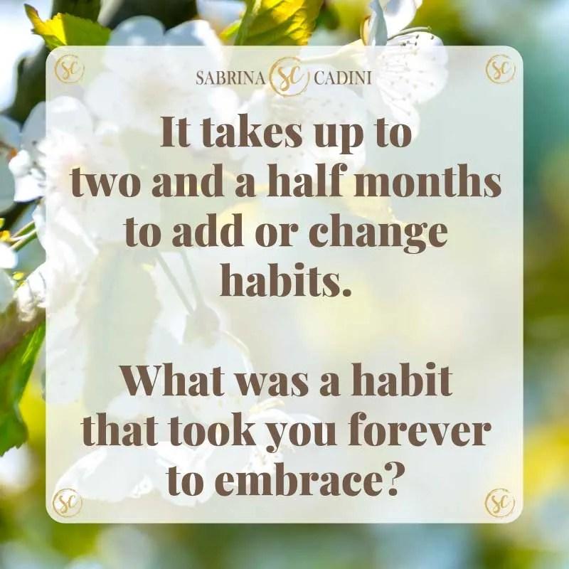 sabrina cadini monday moves me habits embrace change life-work balance brain fitness coach productivity