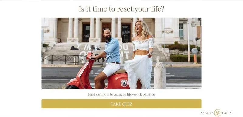 sabrina cadini quiz interact life-work balance