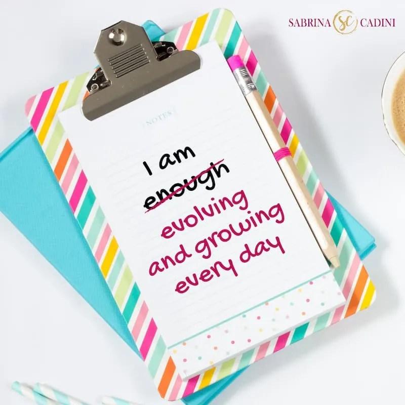 sabrina cadini monday moves me inspiration motivation life coaching life-work balance i am enough