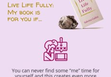 sabrina cadini live life fully book crowdfunding campaign life-work balance work-life balance holistic life coach