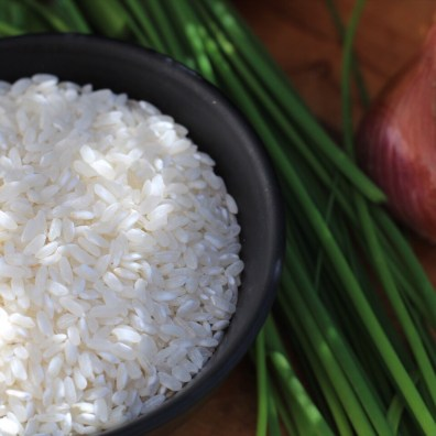 Arborio Rice And Chives for Risotto Recipe