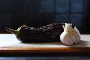 Whole Roasted Eggplant