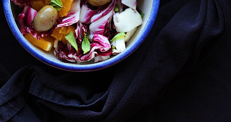 What To Do With Radicchio- Orange Radicchio Salad And Grilled Radicchio