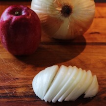 Sliced Onions For Dressing