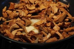 Simple Mushrooms In Butter