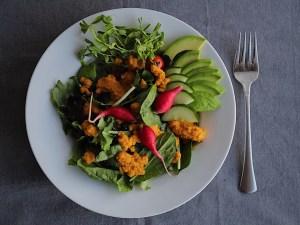 Healthy Apple Carrot Ginger Salad Dressing
