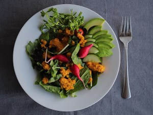 Healthy Apple Carrot Ginger Salad Dressing