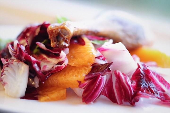 Radicchio Orange And Basil Salad