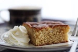 Easy Apple Brown Sugar Snack Cake