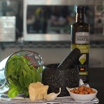 Parmesan Hazelnuts And Sorrel For Pesto