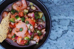 Mexican Shrimp Cocktail