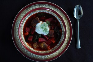 Delicious Hearty Beet Soup