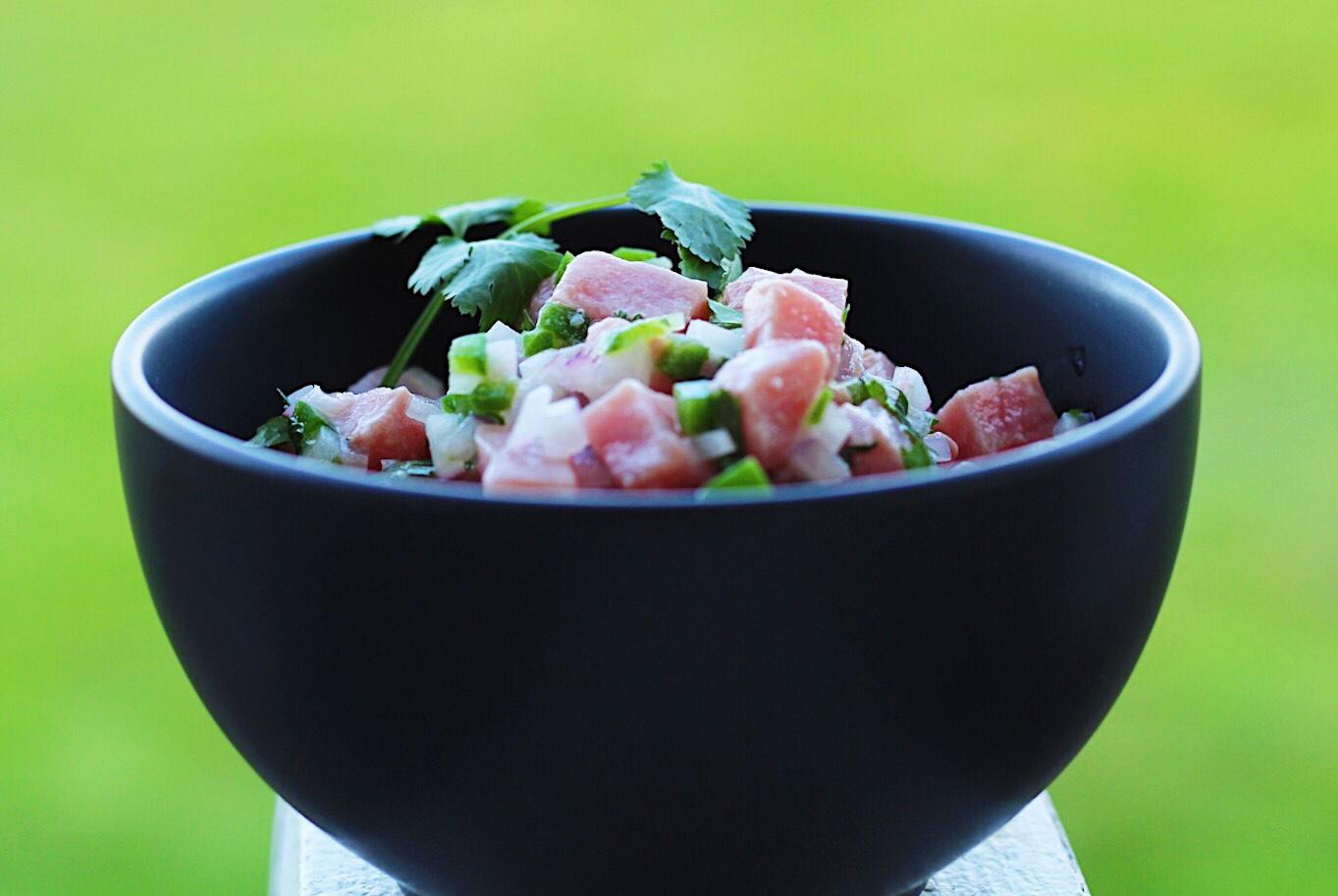 Tuna Ceviche With BC Albacore Tuna