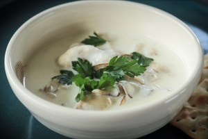 Oyster Stew With Fanny Bay Oysters
