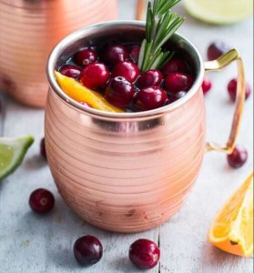 Orange Cranberry Kombucha Moscow Mule