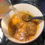 Cooking Laksa from scratch