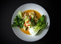 Easy Fresh Snapper Laksa With Coconut Milk