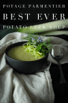 Potato Leek Soup, Vegetarian And Gluten-Free