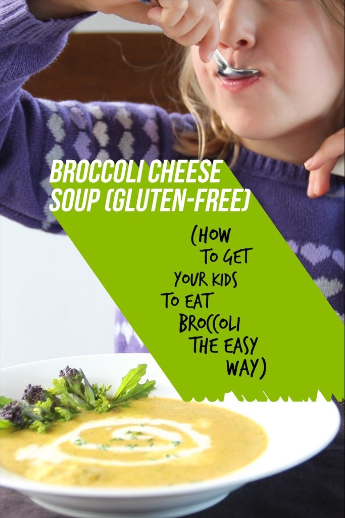 Kid Friendly Healthy Broccoli Cheese Soup