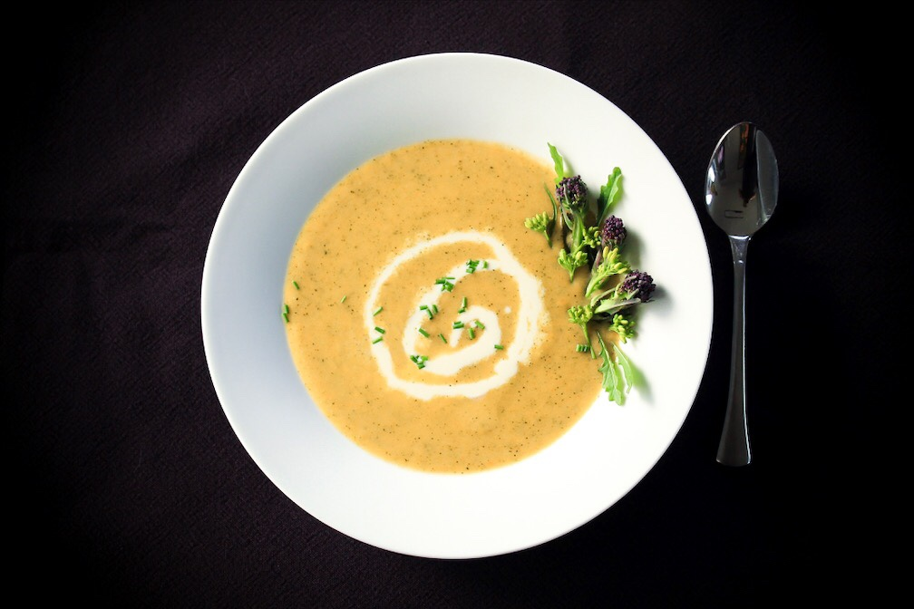 How To Get Your Kids To Eat Broccoli? This Broccoli Cheese Soup Is The Answer! (Gluten-Free)