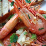 Fresh, Oceanwise Spot Prawn Recipe With Tomato And Fennel