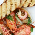 Fresh Easy Spot Prawn Recipe With Garlic Tomato And Fennel