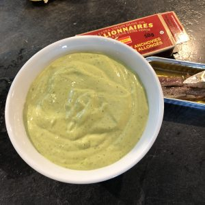 Delicious Easy Herb Veggie Dip