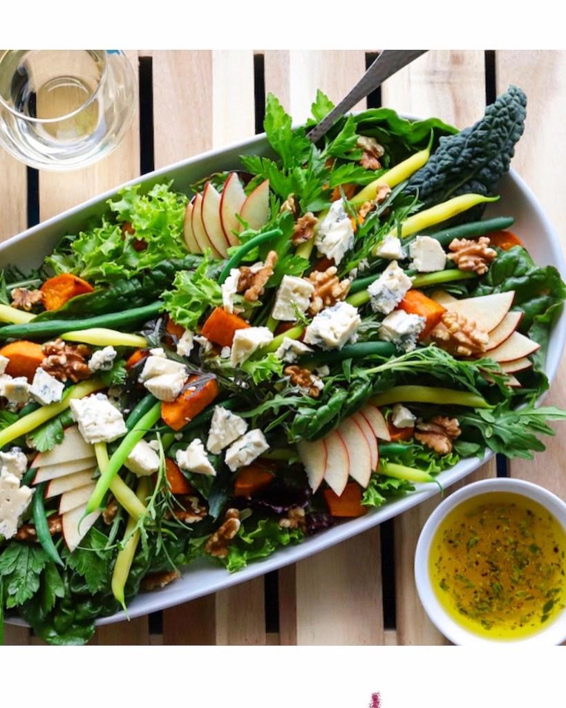 Salad recipe for Edible Vancouver Island Magazine