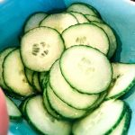 Recipe for lightly dressed Japanese Cucumber Salad